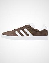 Adidas Originals GAZELLE Joggesko brown/white/gold metallic