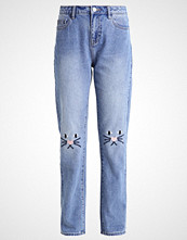 Vero Moda VMBABSY Straight leg jeans medium blue denim