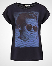 Rich & Royal Tshirts med print deep blue