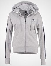 Adidas Performance Treningsjakke medium grey heather/collegiate navy
