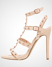 Missguided Sandaler med høye hæler taupe
