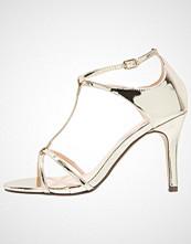 Paradox London Pink PEYTON Sandaler med høye hæler gold