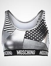 MOSCHINO SWIM Bikinitop silver