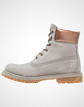 Timberland 6 INCH PREMIUM Vinterstøvler steeple grey/copper metallic/collar