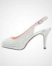Paradox London Pink FIESTA Høye hæler med åpen front silver
