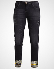 Desigual Slim fit jeans denim black wash