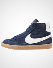 Nike Sportswear BLAZER Høye joggesko binary blue/ivory/light brown/black/team orange