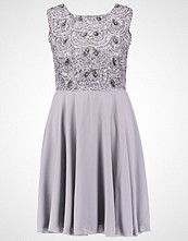 Lace & Beads FIONA Sommerkjole light grey