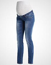 Mamalicious MLTROPEZ Straight leg jeans medium blue denim