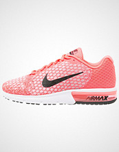 Nike Performance AIR MAX SEQUENT 2 Joggesko hot punch/black/wolf grey/white/volt