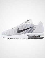 Nike Performance AIR MAX SEQUENT 2 Joggesko pure platinum/black/cool grey/wolf grey/white/volt