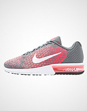 Nike Performance AIR MAX SEQUENT 2 Joggesko cool grey/white/hot punch/lava glow/volt