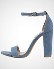 Steve Madden CARRSON Sandaler med høye hæler blue