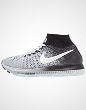 Nike Performance ZOOM ALL OUT FLYKNIT Høye joggesko wolf grey/white/black/pure platinum