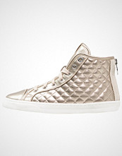 Geox NEW CLUB Høye joggesko champagne/light taupe