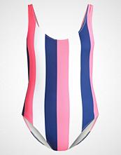 Solid & Striped THE ANNEMARIE Badedrakt navy/pink/cream