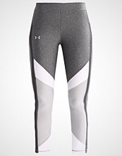 Under Armour Tights carbon heather/white/metallic silver