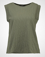 Replay Tshirts med print dark green