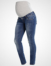 Mamalicious MLTROPEZ Slim fit jeans medium blue denim