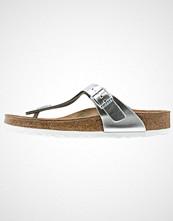 Birkenstock GIZEH Flip Flops metallic silver