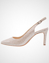Buffalo Klassiske pumps glitter gold