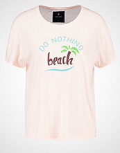 Saint Noir DO NOTHING Tshirts med print light pink