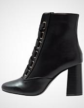 Miss Selfridge DREW Snørestøvletter black