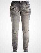 Zizzi Slim fit jeans grey tinted denim