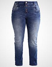 Zizzi MOLLY Slim fit jeans dark blue denim