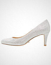Buffalo Klassiske pumps glitter silver
