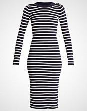 G-Star GStar EXLY STRIPE R DRESS KNIT L/S Strikket kjole osaka blue/off white