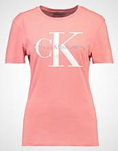 Calvin Klein SHRUNKEN TRUE ICON  Tshirts med print purple