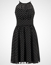Swing Sommerkjole schwarz/cremeweiß