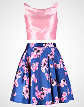 Luxuar Fashion Cocktailkjole blau/rosa