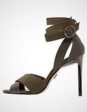 Lost Ink MIA Sandaler med høye hæler khaki