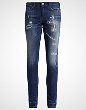 Scotch & Soda LA BOHEMIENNE Slim fit jeans aged turquoise