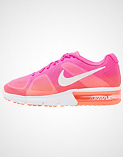 Nike Performance AIR MAX SEQUENT Nøytrale løpesko pink/orange