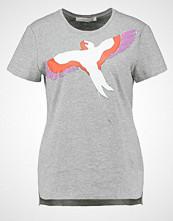Gestuz MERCIE Tshirts med print light grey melange