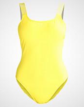 Calvin Klein Swimwear SQUARE SCOOP Badedrakt yellow