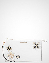 Michael Kors FLOWERS DANIELA Clutch optic white