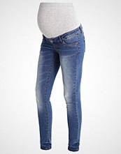 Mamalicious MLSCRATCH Slim fit jeans medium blue denim