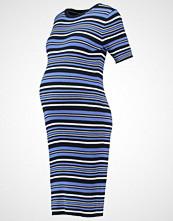 JoJo Maman Bébé Strikket kjole navy/blue