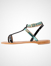 Les Tropéziennes par M Belarbi BAIE Flip Flops turquoise/noir