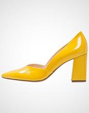 Högl Klassiske pumps yellow