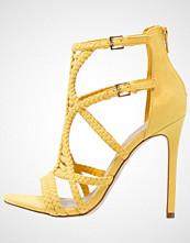 ALDO SINFONY Sandaler med høye hæler mustard
