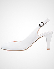 Caprice Klassiske pumps white