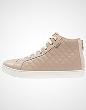 Geox AMARANTH Høye joggesko light taupe