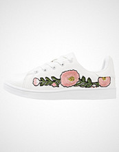 Missguided FLORAL Joggesko white