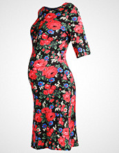 Warehouse ROSE  Jerseykjole multicolor