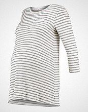 DP Maternity IVY/GRY  Topper langermet ivory